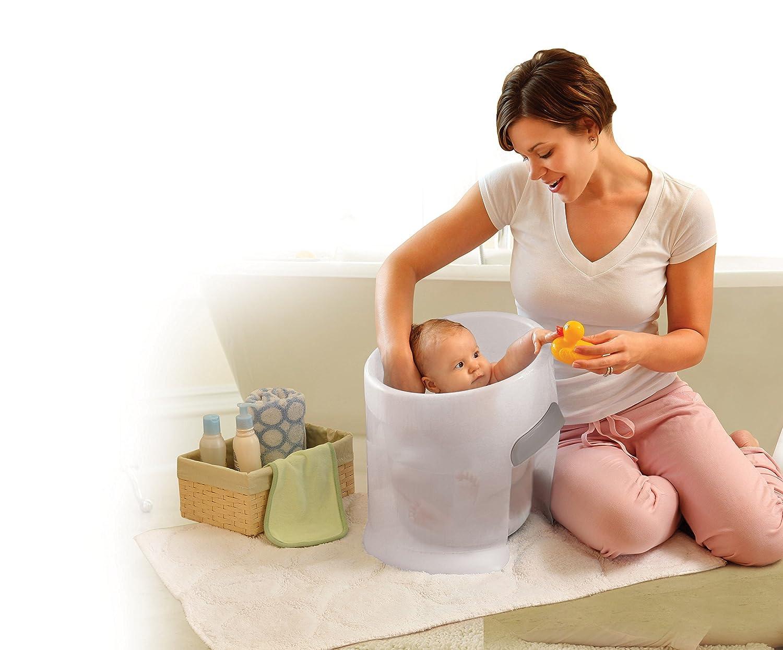Amazon.com : Prince Lionheart washPOD Bathe, Blue : Baby Bathing ...