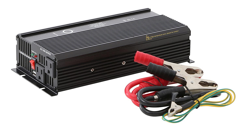 Halo Automotive HA-i1500S Power Inverter, 1500-watt