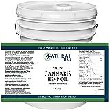 Hemp Oil-Cannabis Sativa Oil, 100% Pure_No Fillers or Additives, Therapeutic Grade