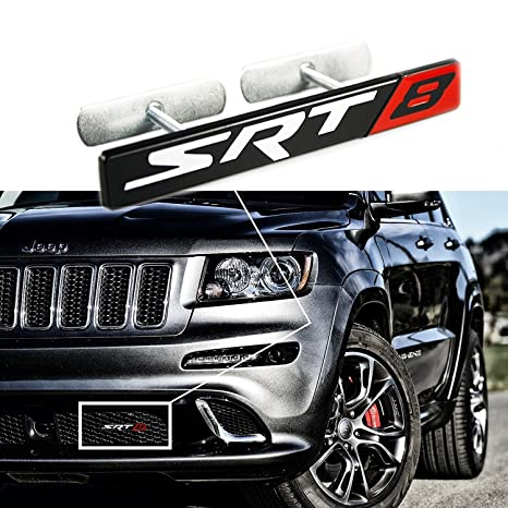 HeMi SRT 8 emblema adhesivo para Dodge Charger Ram Viper Chrysler Jeep tronco tapa frontal Grill