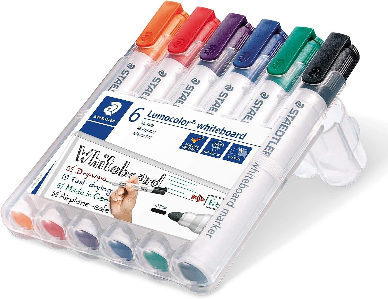 STAEDTLER Whiteboardmarker Lumocolor 301 M 1,0mm 4 Farben