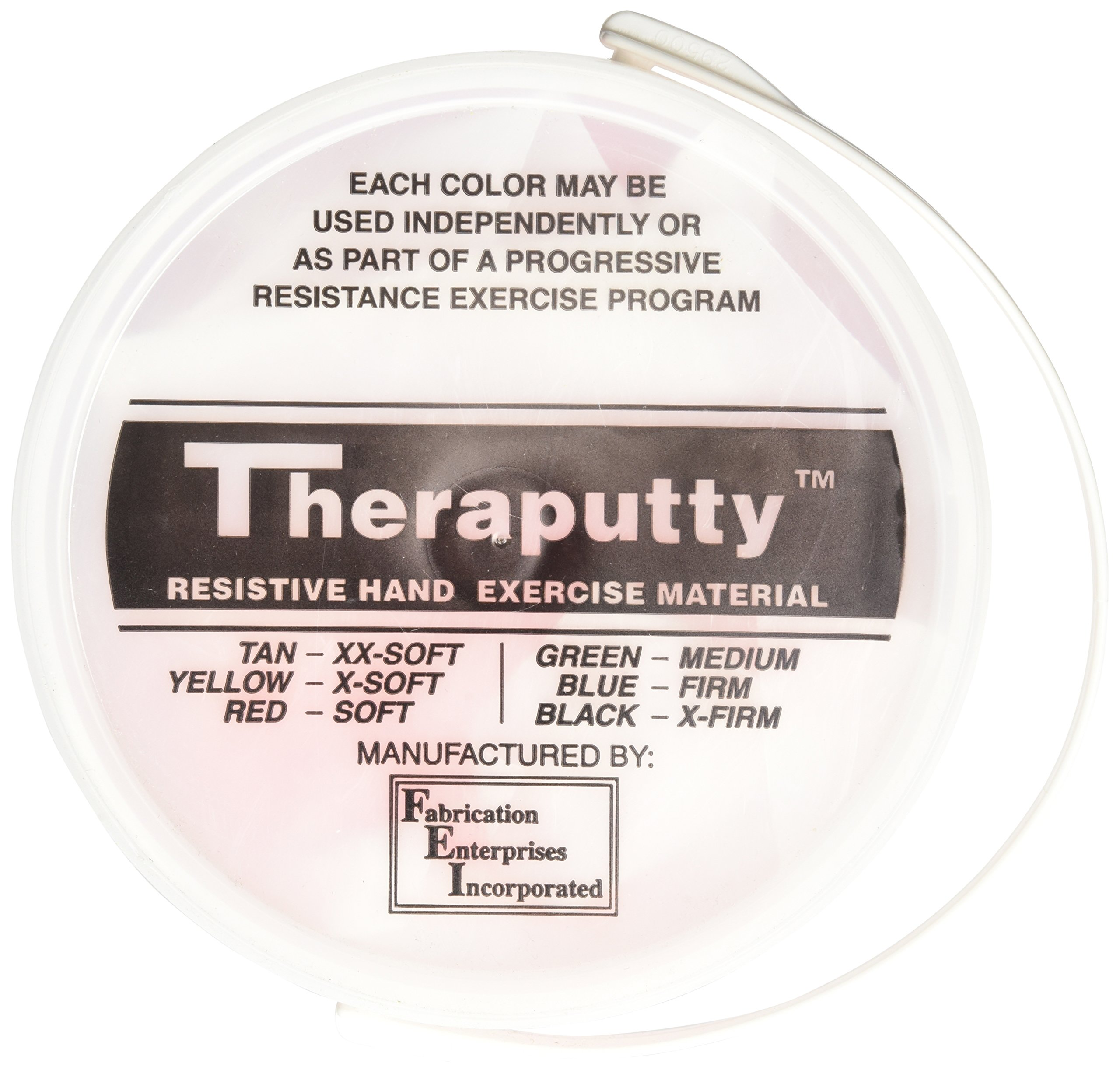CanDo TheraPutty Plus Anti-microbial, Red: Soft, 5 lb