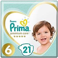 Prima Bebek Bezi Premium Care, 6 Beden, 21 Adet, Ekstra Large İkiz Paket