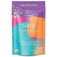 Pink Stork Sleep Tea: Coconut Lavender, USDA Organic, Sleep Aid, Natural Sleeping...
