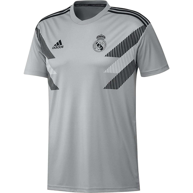e961ce6bc Amazon.com: adidas Men's Real Madrid Home Pre-match Jersey: Clothing