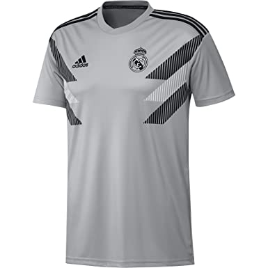 sale retailer 804b0 4ff45 Amazon.com: adidas Men's Real Madrid Home Pre-match Jersey ...
