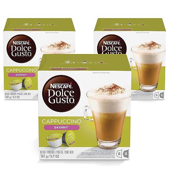 Nescafé Dolce Gusto Magnum Cappuccino - Cápsulas de Café - 3 x 30 - 90 Cápsulas