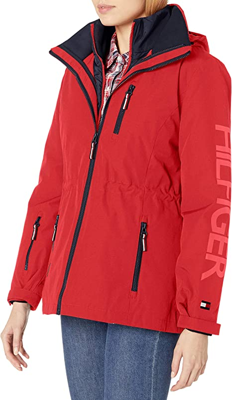 a few days away best quality low price sale Tommy Hilfiger Women's 3 in 1 Systems Jacket