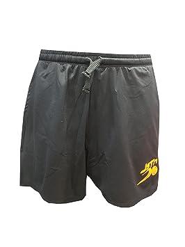 Pantalón Padel Just Ten Hombre Andy-Negro/Naranja Fluor-XL ...