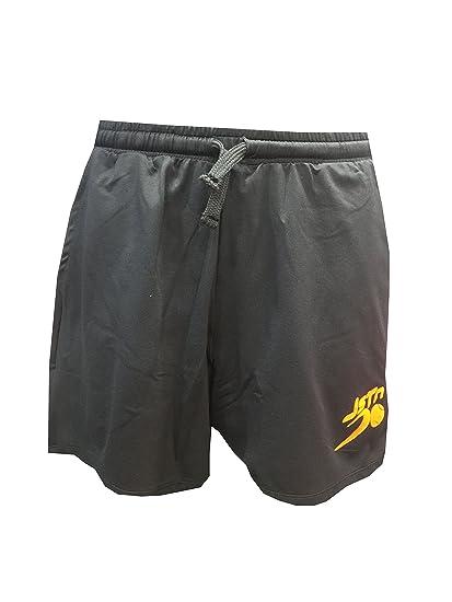 Pantalón Padel Just Ten Hombre Andy-Negro/Naranja Fluor-XL