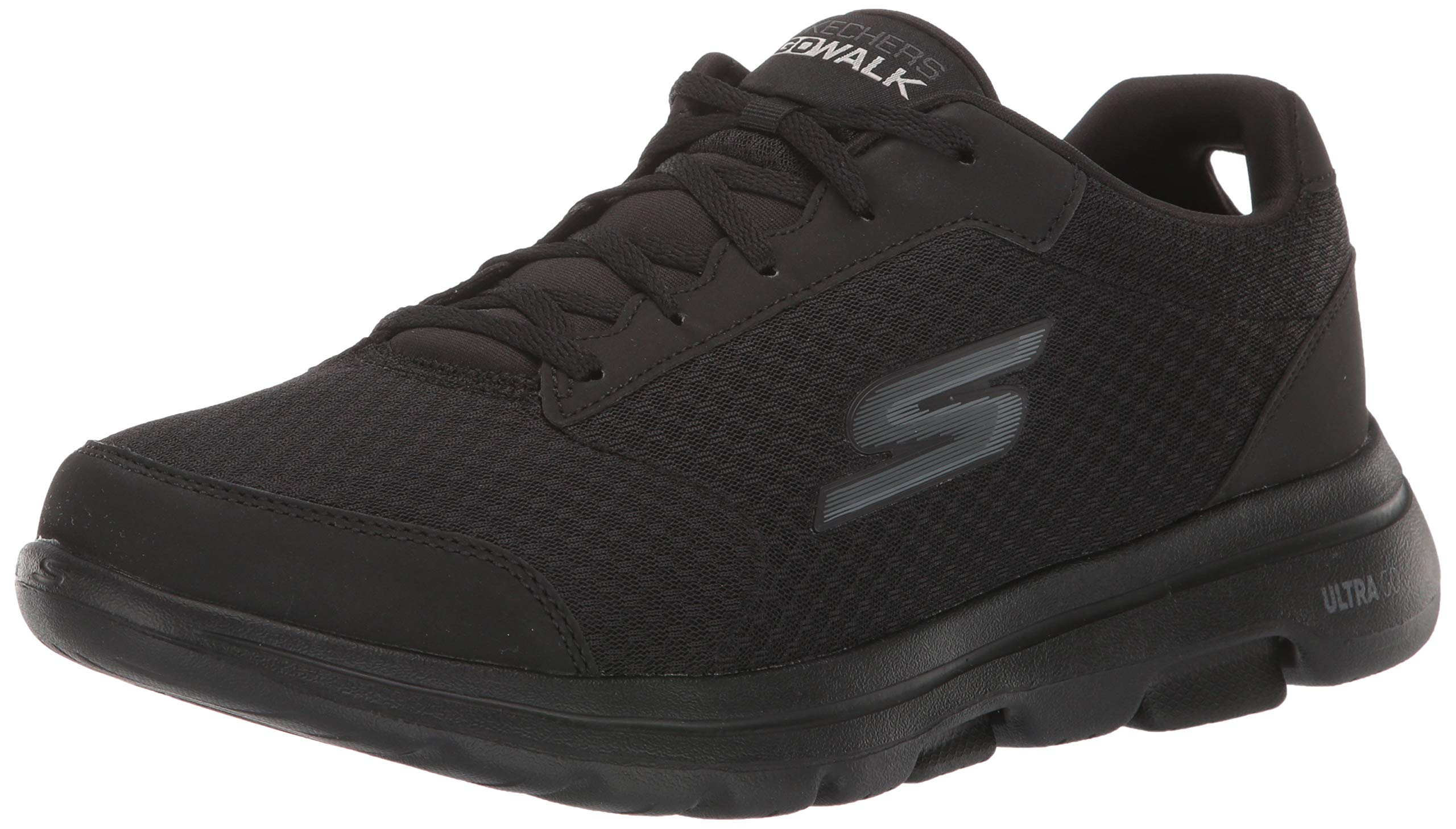 Skechers Men's GO Walk 5 - Qualify Shoe, Black, 11 M US by Skechers