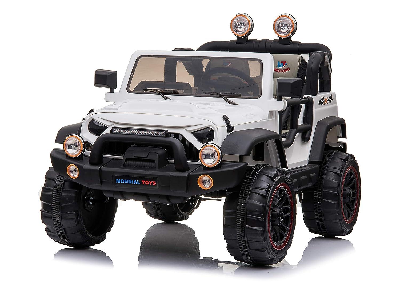 Mondial Toys Coche eléctrica 12 V para niños 2 plazas Maxi Allrad ...