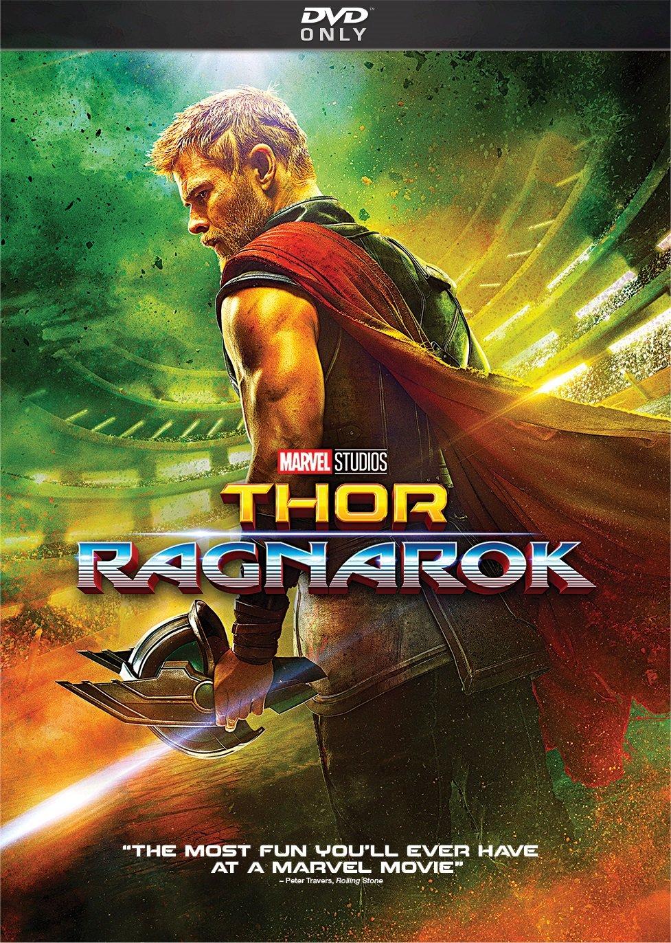 DVD : Thor: Ragnarok (Dolby, AC-3, Dubbed, )
