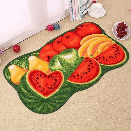 Jtengyao Non Slip Fruit Rug Mat Bedroom Kitchen Sofa Rugs 15 7 X 23 6 Inch Amazon Co Uk Kitchen Home