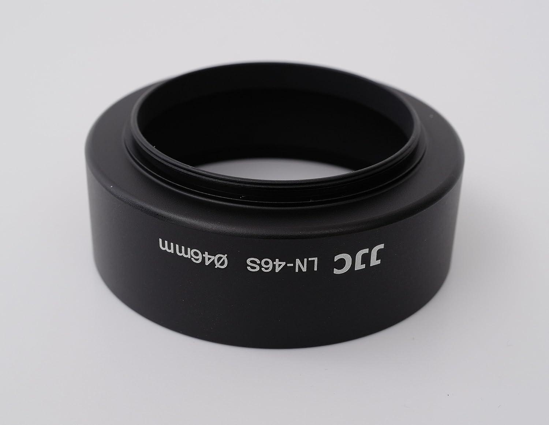 Para Olympus M Zuiko Digital ED 60 mm 1: 2.8 Macro Fabricado en metal de alta calidad 46 mm Difusora parasol del objetivo Con rosca de tornillo