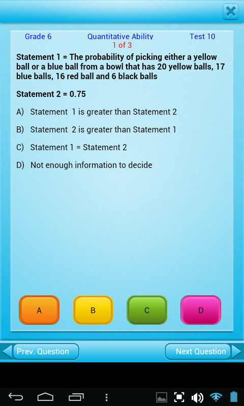 Amazon.com: FREE QVprep Lite 6th grade maths (quantitative) and ...