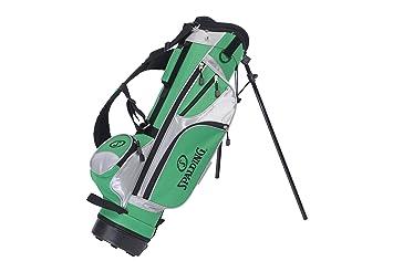 Spalding Stand - Bolsa con trípode para Palos de Golf