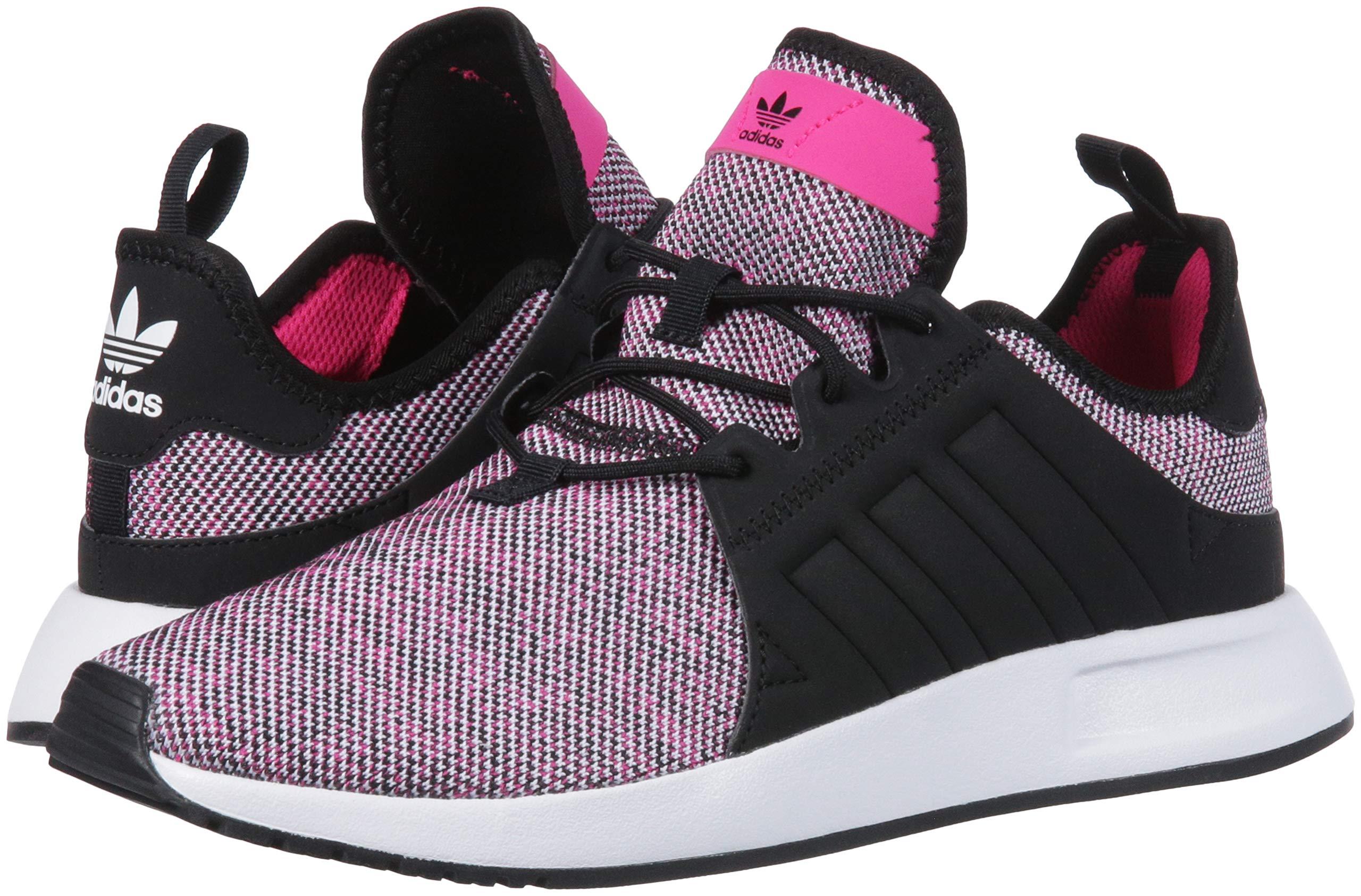 adidas Originals Unisex X_PLR Running Shoe, Shock Pink/Black/White, 3.5 M US Big Kid by adidas Originals (Image #6)