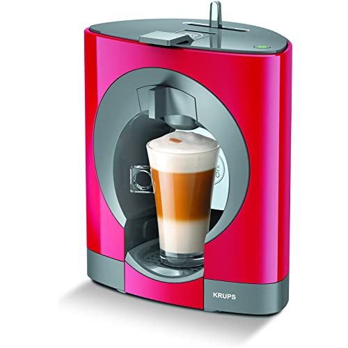Nescafe Dolce Gusto Oblo Red Coffee Capsule Machine by Krups
