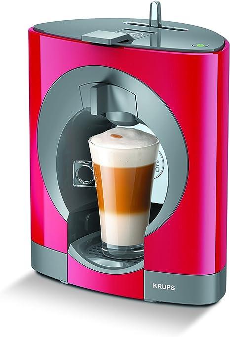 Krups Dolce Gusto Oblo KP1105 - Cafetera de cápsulas, 15 bares de presión, color rojo: Amazon.es: Hogar