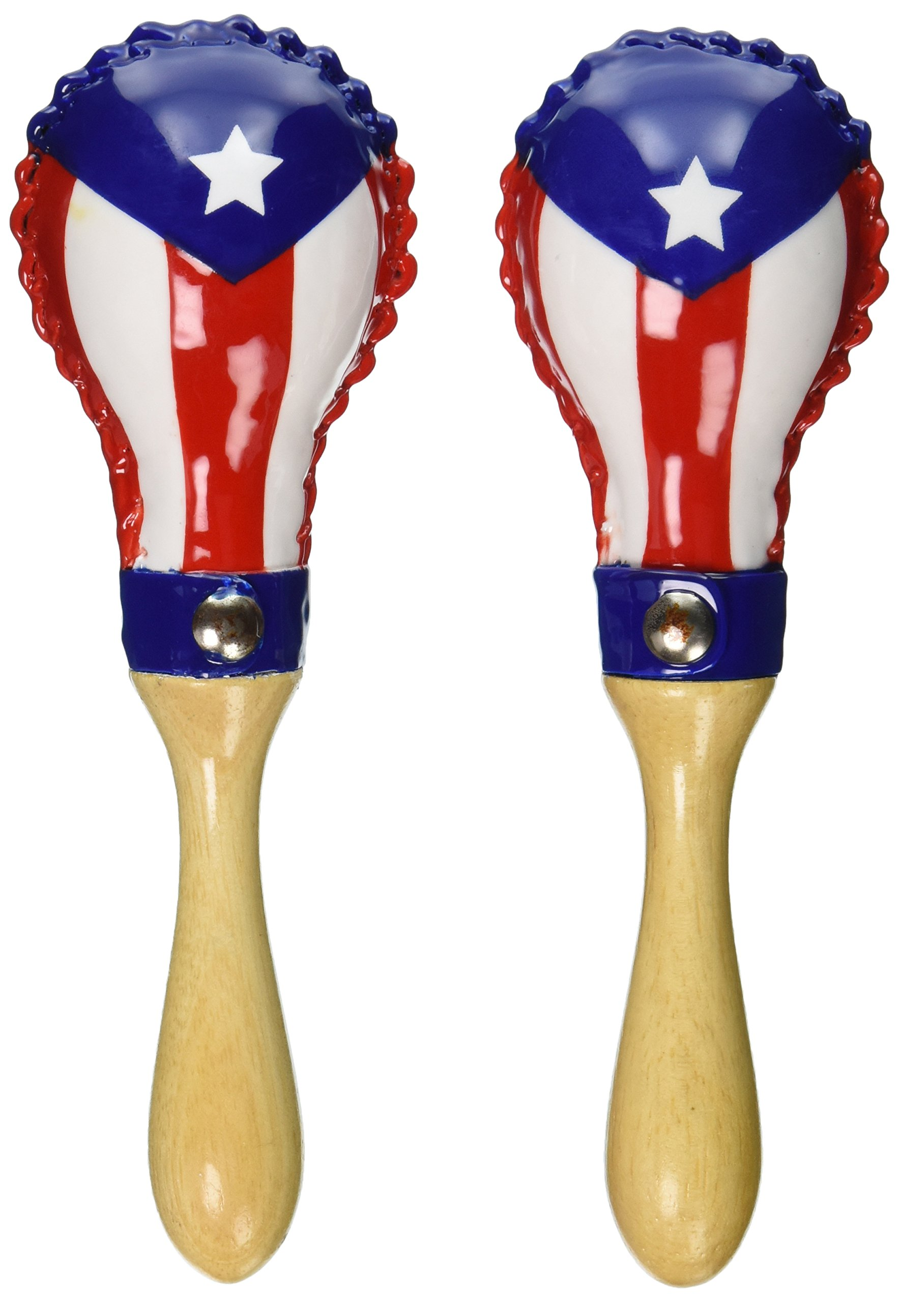 Latin Percussion LP285-PR Mini Rawhide Maracas Prflag by Latin Percussion