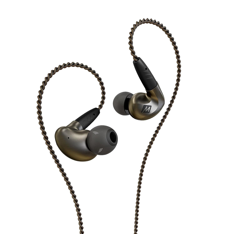 MEE Audio EP-P1-ZN-MEE in-Ear Headphones (Black)