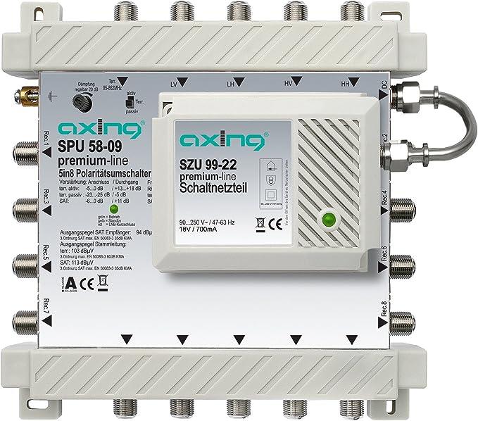 Axing Spu 58 09 Sat Multischalter Elektronik