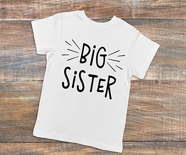 Amazon Com Big Sister Shirt Sibling Shirts Or Bodysuit Baby