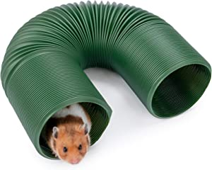 Niteangel Small Pet Fun Tunnel, 39 x 4 inches - Fit Adult Ferrets and Rats