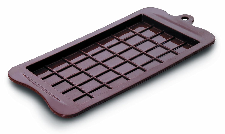IBILI Silicone Chocolate Bar Mould, Brown, 18.5 x 9.5 cm 860500