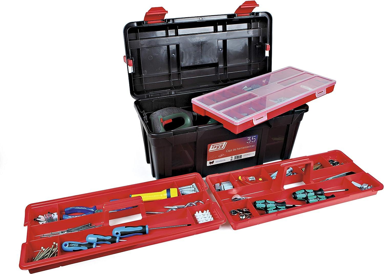 Tayg 370034 B034 Bo/îte /à Outils en Plastique 580 x 285 x 290 mm