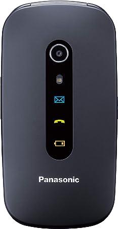 Panasonic KX-TU466EXBE - Teléfono Móvil para Mayores (Pantalla ...