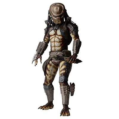 NECA Predator 1/4 Scale Action Figure with Led Lights: Toys & Games