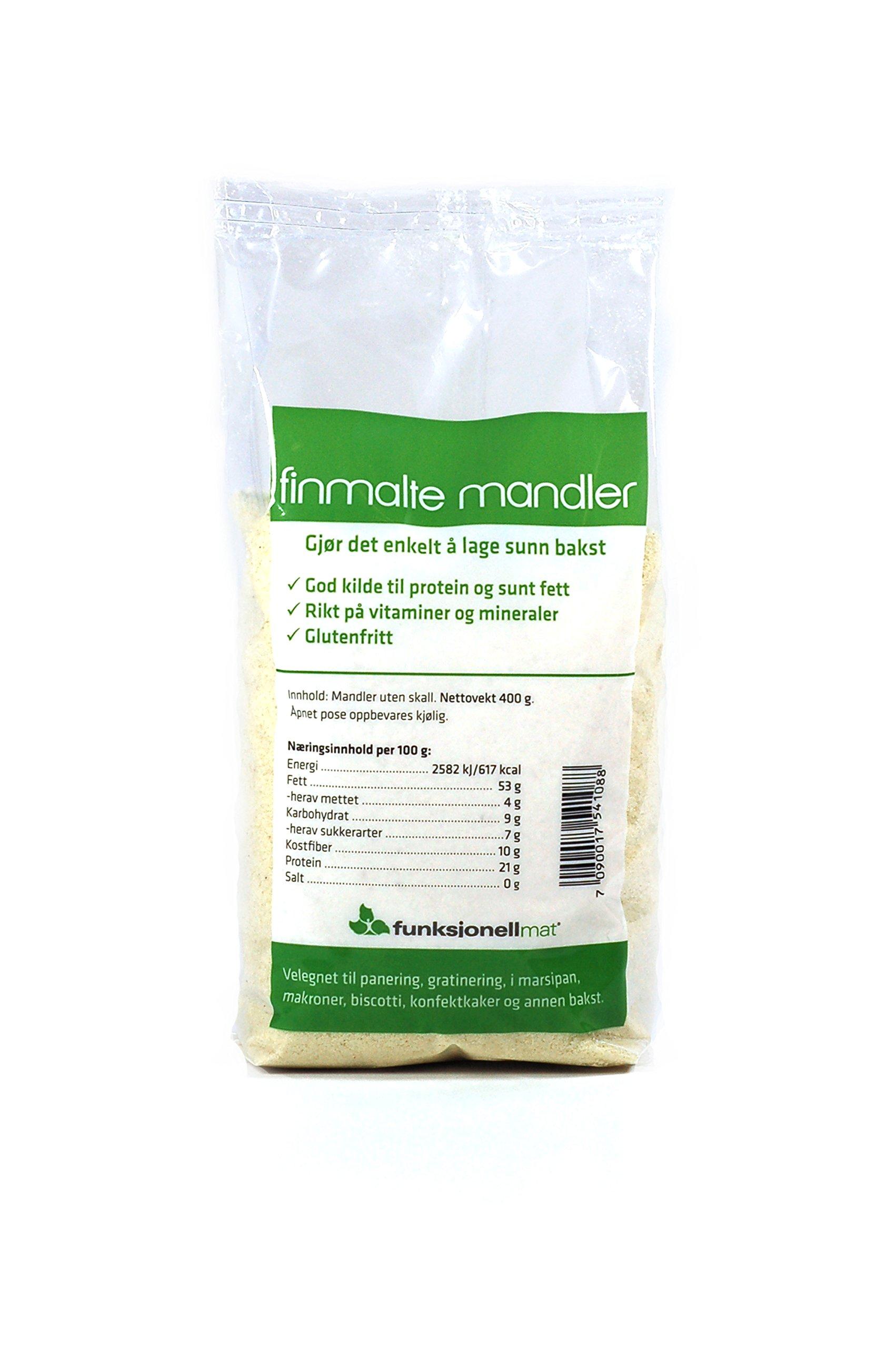 Sukrin Finely Ground Almond Flour 400g - 1-Pack