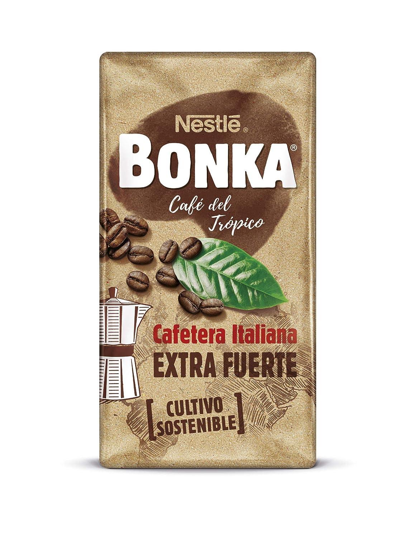 Bonka Cafetera Italiana Café Tostado Molido - 250 g: Amazon ...