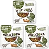 Wild Zora - Mediterranean Pasture-Raised Lamb & Organic Veggie Bars, 1oz single - AIP-friendly - No Nightshades - Gluten-Free - No Antibiotics or Added Hormones (3-Pack)