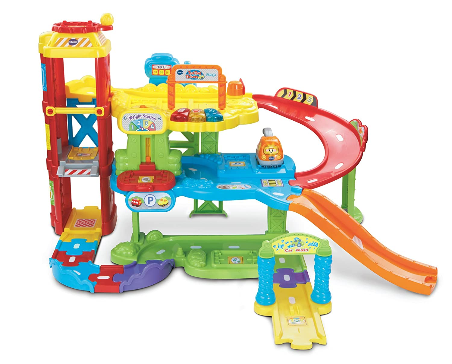 VTech Baby Toot-Toot Drivers Garage: Amazon.co.uk: Toys & Games