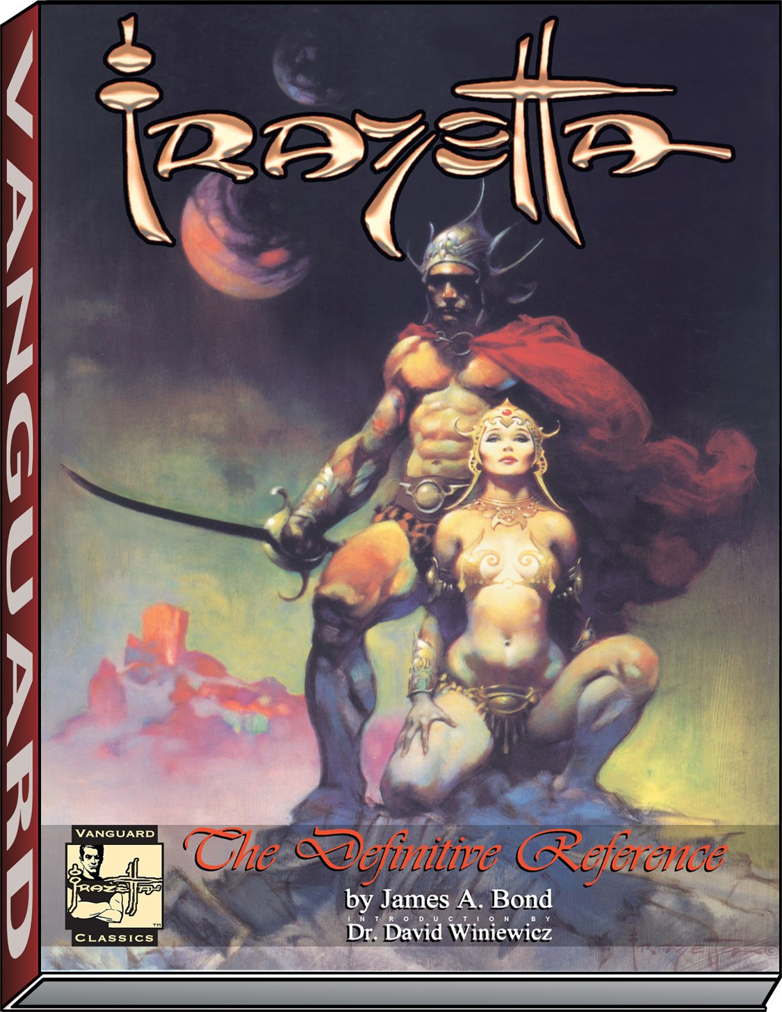 Frazetta: The Definitive Reference by Brand: VANGUARD PRODUCTIONS