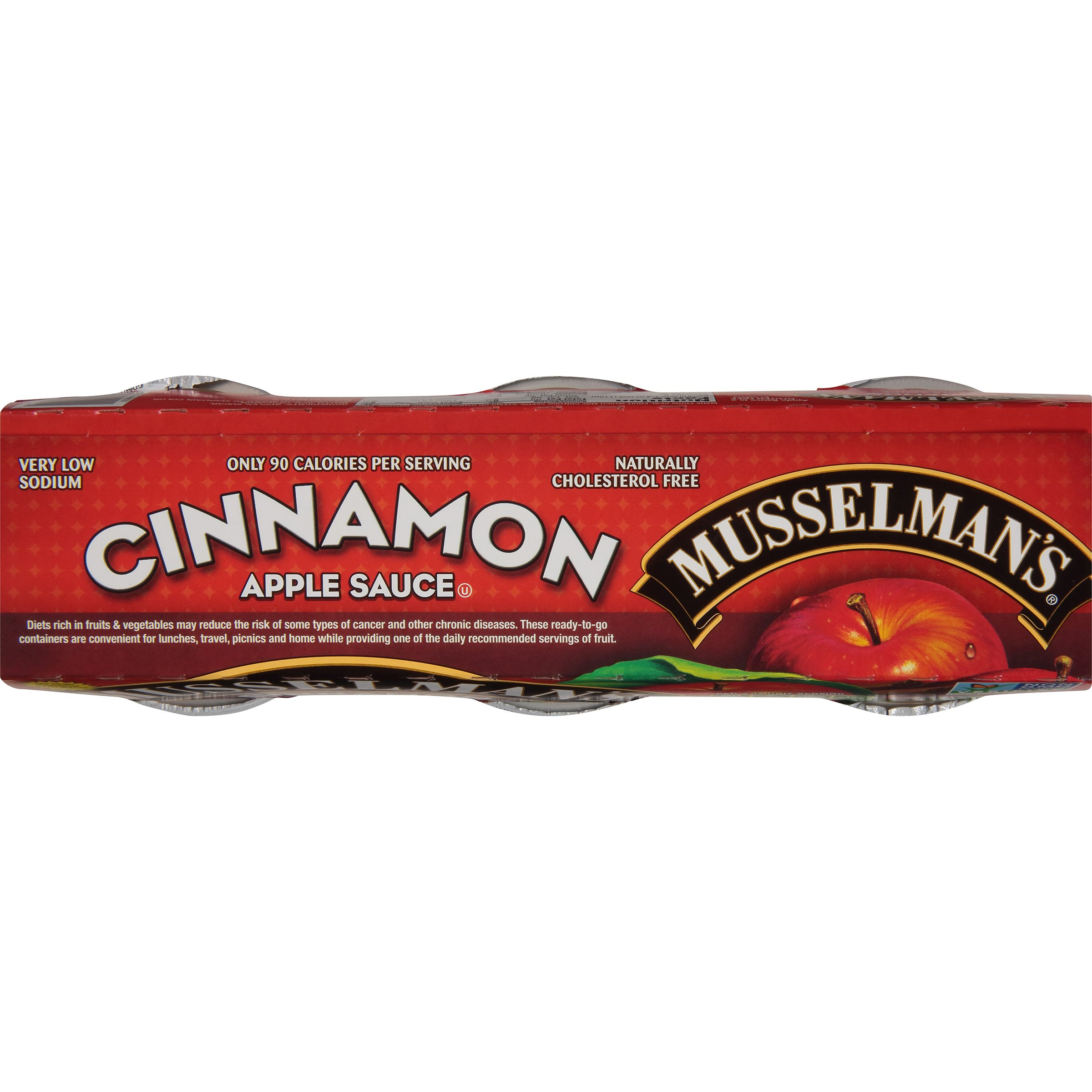 Musselman's Cinnamon Sweetened Applesauce, 4-Ounce Cups (Pack of 72) by Musselmans (Image #9)
