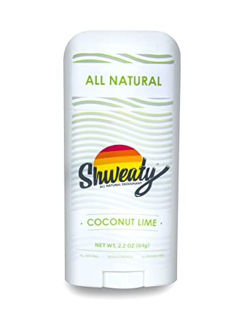 Shweaty All Natural Deodorant – Coconut Lime Set of 3