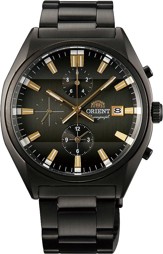 [オリエント時計] 腕時計 WV0341TT ブラック