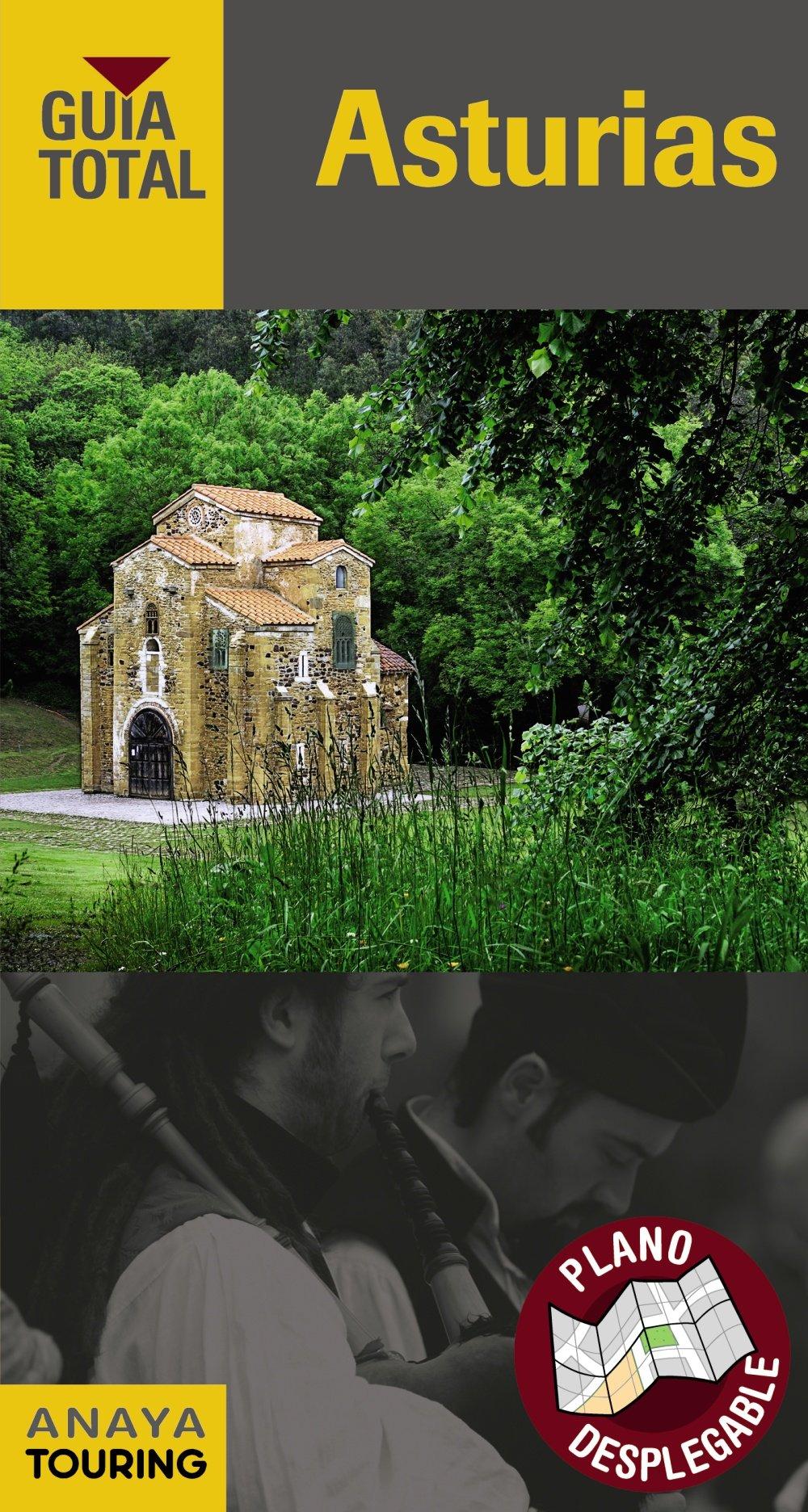 Asturias (Guía Total - España): Amazon.es: Anaya Touring, Pombo Rodríguez, Antón: Libros
