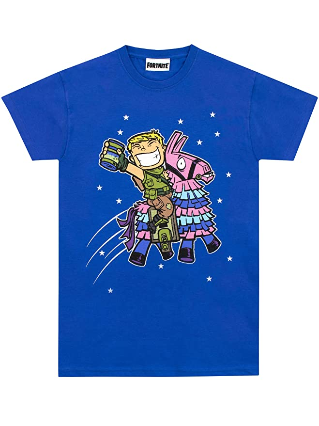 b3c3605decf4e Fortnite - T-Shirt - Lama - Garçon  Amazon.fr  Vêtements et accessoires