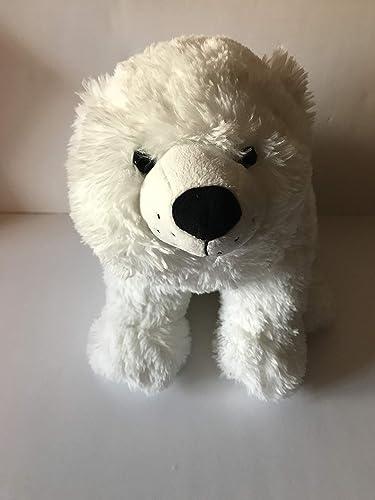 Amazon Com Weighted Stuffed Animal Weighted Polar Bear 4 Lbs