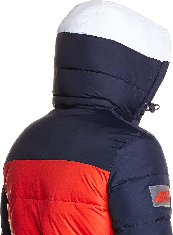 Superdry Veste matelassée Mountain Mark Sherpa Rouge