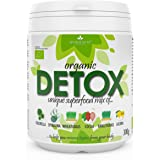 6in1 DETOX SUPERFOOD MIX 300g | Certified Organic Chlorella, Spirulina, Wheatgrass, Barleygrass, Lucuma & Cocoa Powder | All Natural Detox Dietary Supplement | Unique Mix of 6 Ingredients | NO Additives | 30-Day Treatment | Now Only £0.66 Per Serving | BIOKRÄFTE®