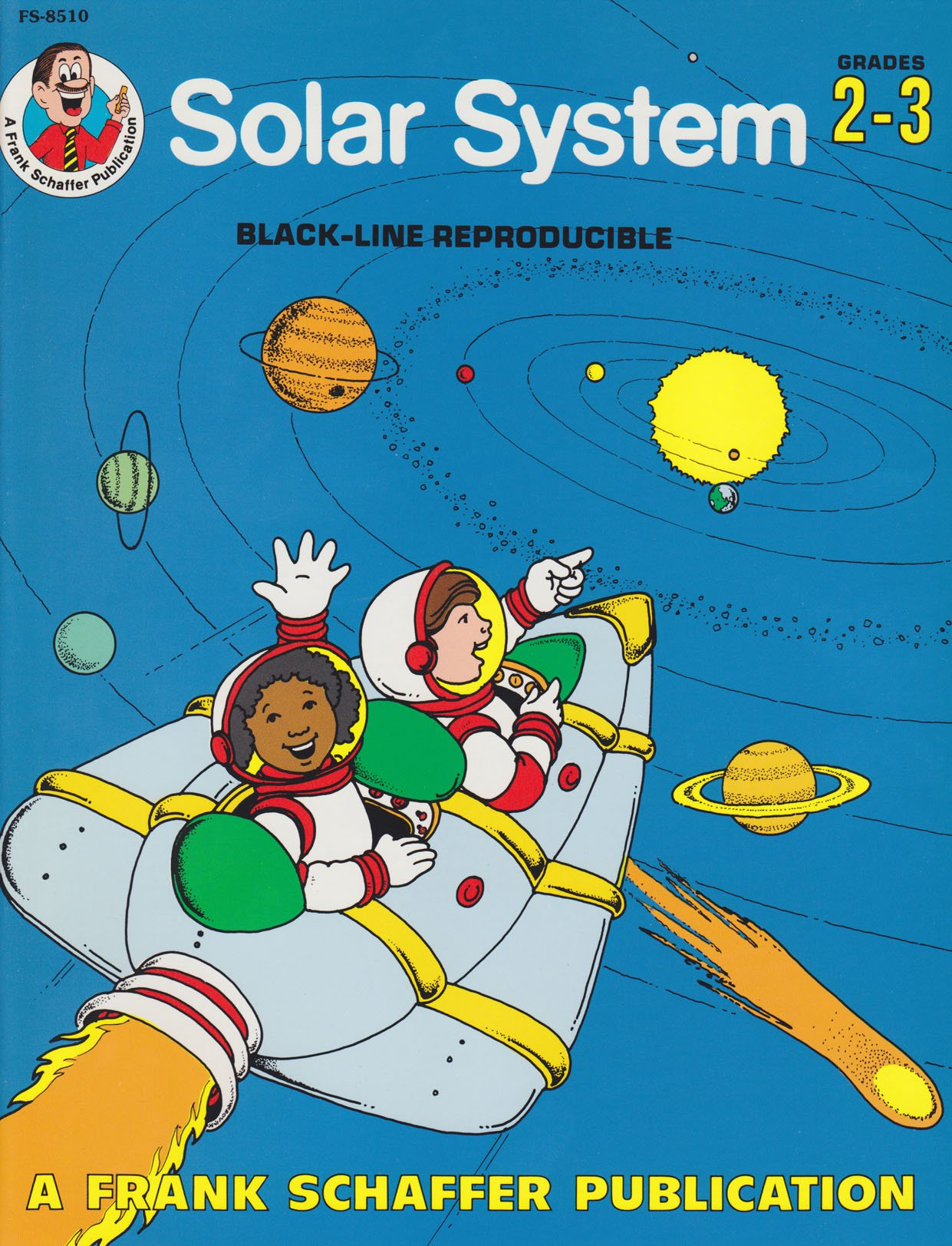 worksheet Frank Schaffer Publications Worksheets solar system black line reproducible a frank schaffer publication grades 2 3 laura phou ron lipking amazon com books