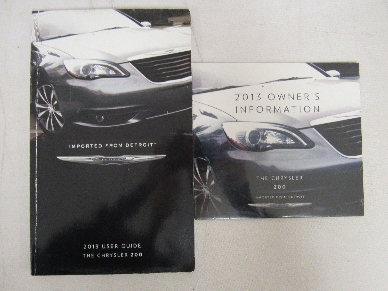 2013 chrysler 200 s manual