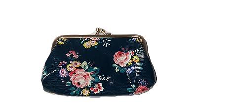 Cath Kidston Briar - Monedero con diseño de rosas y pestañas ...