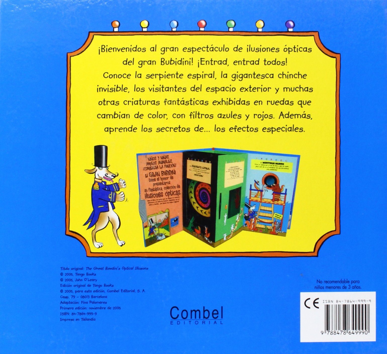 Ilusiones Opticas Con El Gran Bubidini (Spanish Edition): 9788478649990: Amazon.com: Books